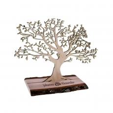 Hochzeitsbaum mit Wunschnamen und Motiv