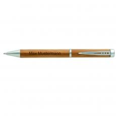 Kugelschreiber Bambus mit Wunschname
