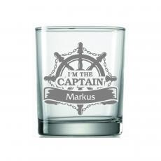 Whiskyglas Seefahrer mit Wunschname