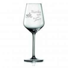 Weinglas Ein guter Jahrgang
