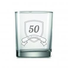 Jubiläumsglas mit Wappen