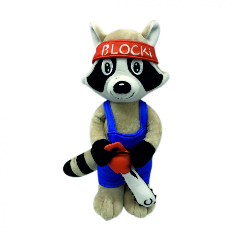 Blockhausen-Maskottchen Blocki
