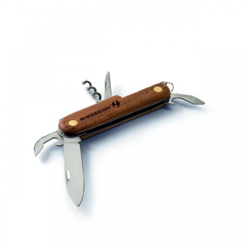 Blockhausen-Taschenmesser mit 5 Funktionen