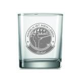 Whiskyglas Angeln ist mein Leben mit Wunschname