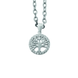925 Silber Halskette Lebensbaum