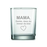 Whiskyglas Danke Mama