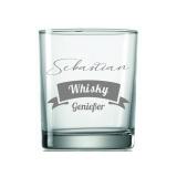 Whiskyglas Genießer/-in Flagge