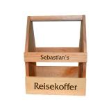 Bier- / Weinträger Reisekoffer mit Wunschname