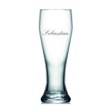 Weizenglas mit Wunschname